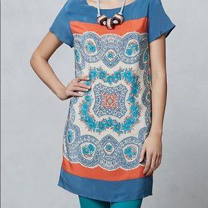 Anthropologie | Meadow Rue Calcada Tunic Dress